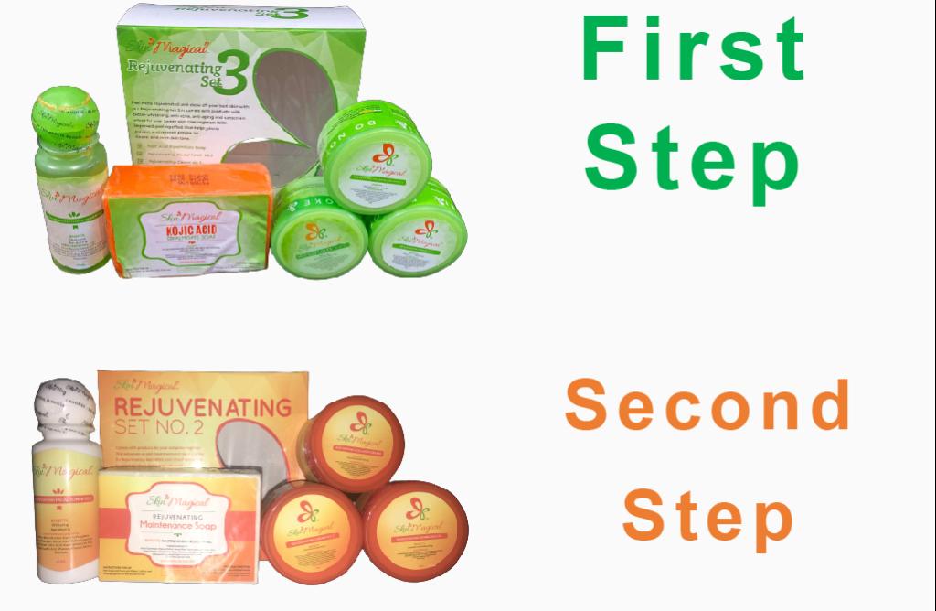 Skin magical rejuvenating set no.3 and no.2