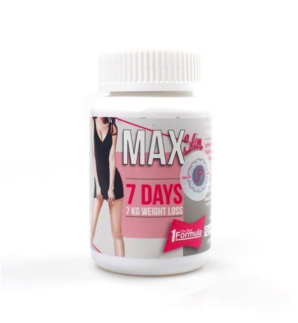 Max Slim 7 Days Slimming Capsules