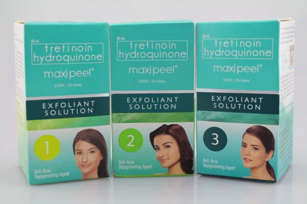 Tretinoin Hydroquinone Maxi-Peel Solution