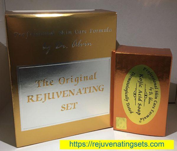 Dr Alvin Rejuvenating Set + Extra Kojic Soap