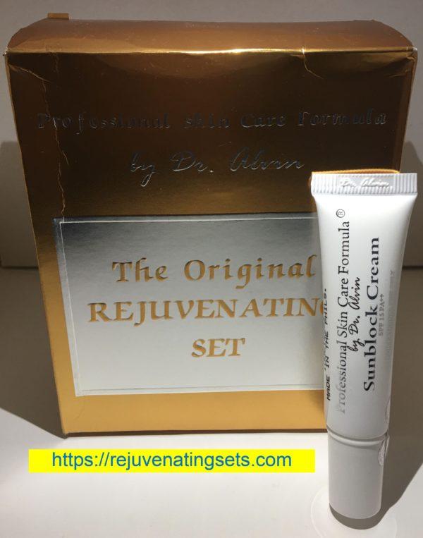 Dr Alvin Rejuvenating Set + Extra Sunblock Cream