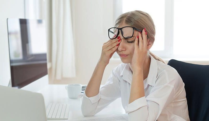 Stress May Lead To Acne