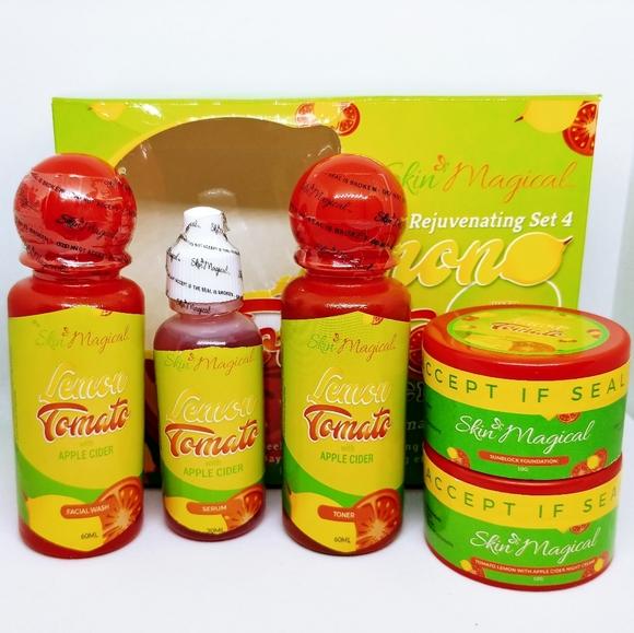 Skin Magical Lemon Tomato Apple Cider Vinegar Rejuvenating Set No.4