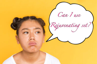 What is the right age to use rejuvenating set