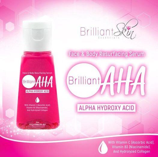 brilliant AHA serum