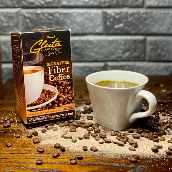 Glutalipo Gold Series Signature Fiber Coffee