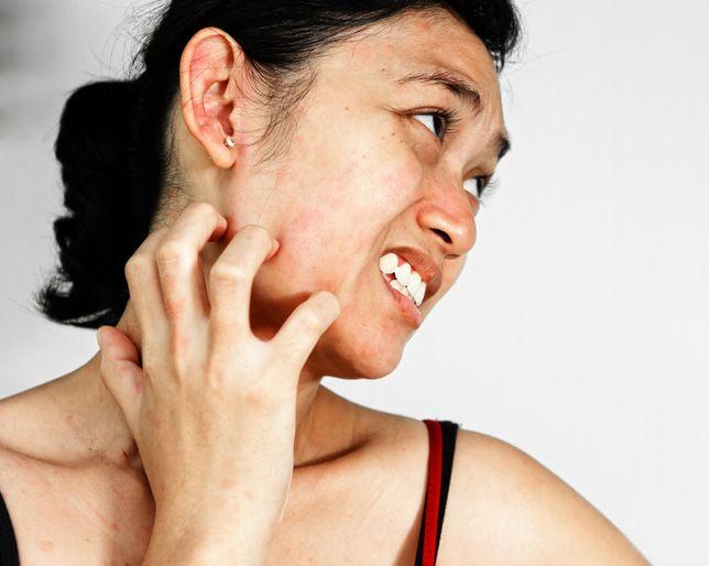 Itchy skin while using rejuvenating set
