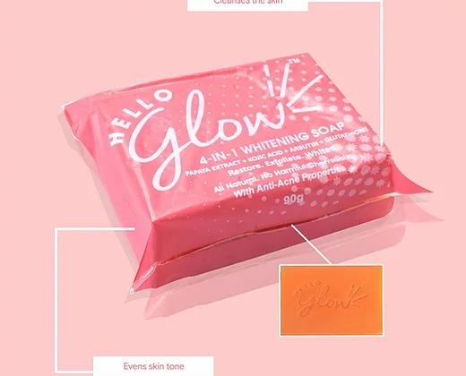 Hello Glow 4 in 1 Whitening Soap
