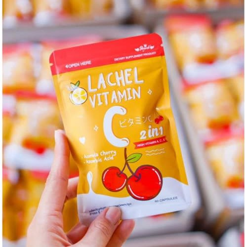 Lachel Vitamin C 60 Capsules